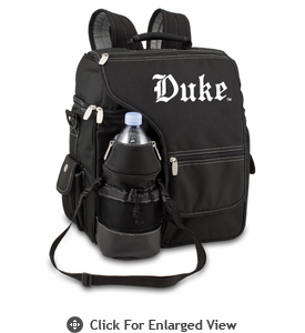Picnic Time Turismo Black - Embroidered Duke University Blue Devils