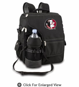 Picnic Time Turismo Black - Embroidered Florida State Seminoles