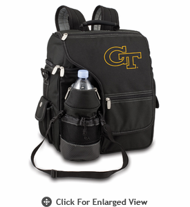 Picnic Time Turismo Black - Embroidered Georgia Tech Yellow Jackets