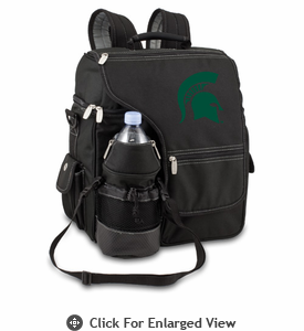 Picnic Time Turismo Black - Embroidered Michigan State Spartans