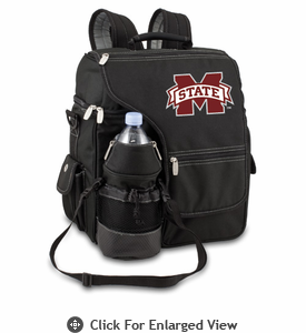 Picnic Time Turismo Black - Embroidered Mississippi State Bulldogs