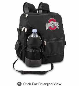Picnic Time Turismo Black - Embroidered Ohio State Buckeyes
