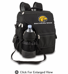Picnic Time Turismo Black - Embroidered Southern Miss Golden Eagles