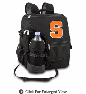 Picnic Time Turismo Black - Embroidered Syracuse University Orange