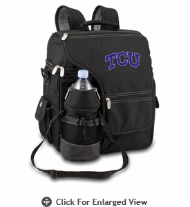Picnic Time Turismo Black - Embroidered TCU Horned Frogs