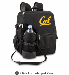 Picnic Time Turismo Black - Embroidered UC Berkeley Golden Bears