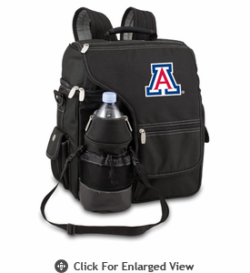 Picnic Time Turismo Black - Embroidered University of Arizona Wildcats