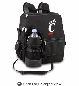 Picnic Time Turismo Black - Embroidered University of Cincinnati Bearcats