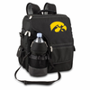 Picnic Time Turismo Black - Embroidered University of Iowa Hawkeyes