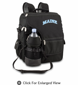 Picnic Time Turismo Black - Embroidered University of Maine Black Bears