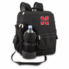 Picnic Time Turismo Black - Embroidered University of Nebraska Cornhuskers