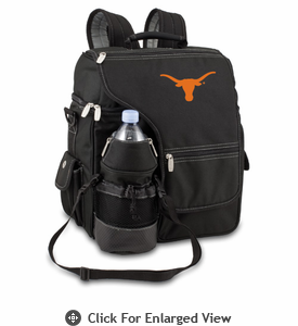 Picnic Time Turismo Black - Embroidered University of Texas Longhorns