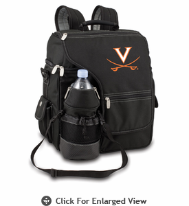 Picnic Time Turismo Black - Embroidered University of Virginia Cavaliers