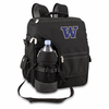 Picnic Time Turismo Black - Embroidered University of Washington Huskies