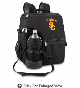 Picnic Time Turismo Black - Embroidered USC Trojans