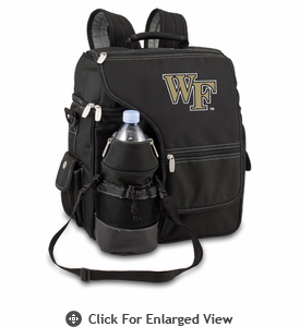 Picnic Time Turismo Black - Embroidered Wake Forest Demon Deacons