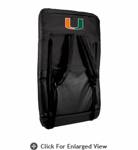 Picnic Time Ventura - Black University of Miami Hurricanes