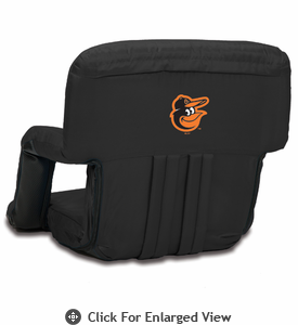 Picnic Time Ventura Seat - Black Baltimore Orioles