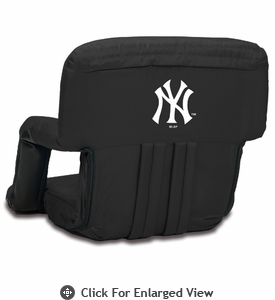Picnic Time Ventura Seat - Black New York Yankees