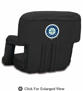 Picnic Time Ventura Seat - Black Seattle Mariners