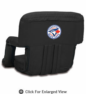Picnic Time Ventura Seat - Black Toronto Blue Jays