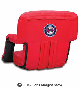 Picnic Time Ventura Seat - Red Minnesota Twins
