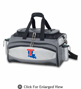 Picnic Time Vulcan - Digital Print Louisiana Tech Bulldogs