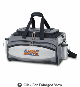 Picnic Time Vulcan - Embroidered University of Illinois Fighting Illini