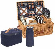 Picnic Time� Windsor Picnic Basket For 4