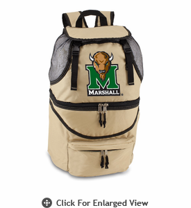 Picnic Time Zuma Digital Print - Beige Marshall University Thundering Herd