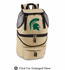 Picnic Time Zuma Digital Print - Beige Michigan State Spartans