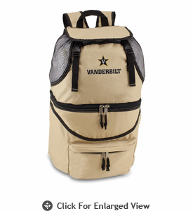 Picnic Time Zuma Digital Print - Beige Vanderbilt University Commodores