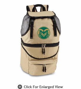 Picnic Time Zuma Embroidered - Beige Colorado State Rams