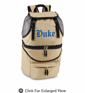 Picnic Time Zuma Embroidered - Beige Duke University Blue Devils
