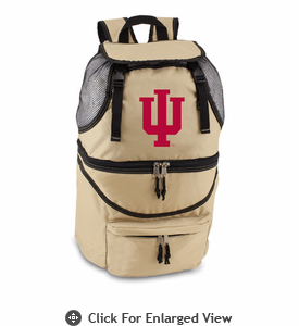 Picnic Time Zuma Embroidered - Beige Indiana University Hoosiers
