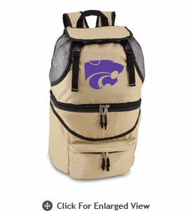Picnic Time Zuma Embroidered - Beige Kansas State Wildcats