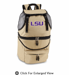 Picnic Time Zuma Embroidered - Beige LSU Tigers