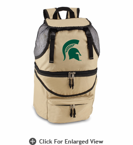 Picnic Time Zuma Embroidered - Beige Michigan State Spartans