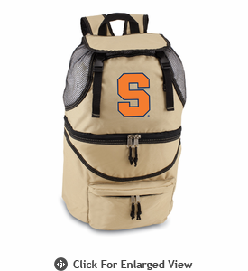 Picnic Time Zuma Embroidered - Beige Syracuse University Orange