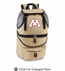 Picnic Time Zuma Embroidered - Beige University of Minnesota Golden Gophers Embroider