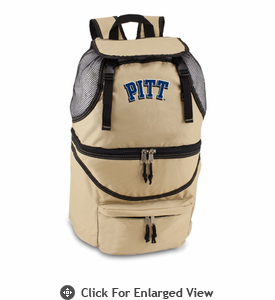 Picnic Time Zuma Embroidered - Beige University of Pittsburgh Panthers