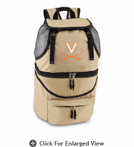 Picnic Time Zuma Embroidered - Beige University of Virginia Cavaliers