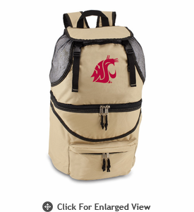 Picnic Time Zuma Embroidered - Beige Washington State Cougars