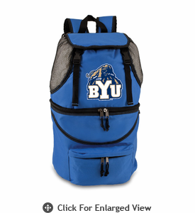 Picnic Time Zuma Embroidered - Blue BYU Cougars