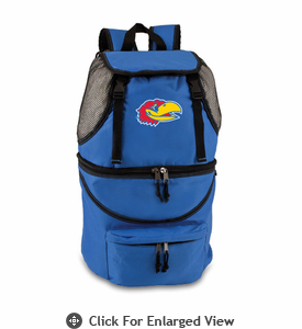 Picnic Time Zuma Embroidered - Blue University of Kansas Jayhawks