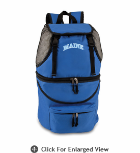 Picnic Time Zuma Embroidered - Blue University of Maine Black Bears