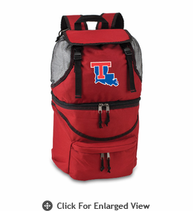 Picnic Time Zuma Embroidered - Red Louisiana Tech Bulldogs