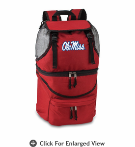 Picnic Time Zuma Embroidered - Red University of Mississippi Rebels
