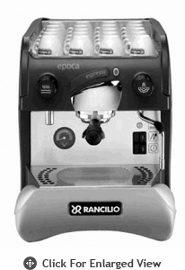 Rancilio Espresso Machine Epocha ST-1