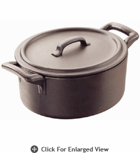 Revol Porcelain Belle Cuisine Cocotte with Lid 1L Cast Iron Style